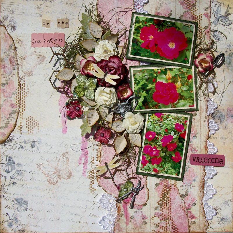 In the garden ~Scraps of Elegance~