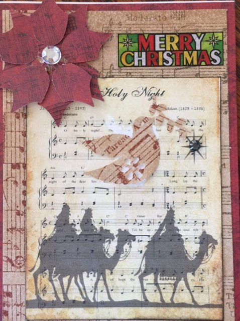 Oh Holy Night Christ6mas Card
