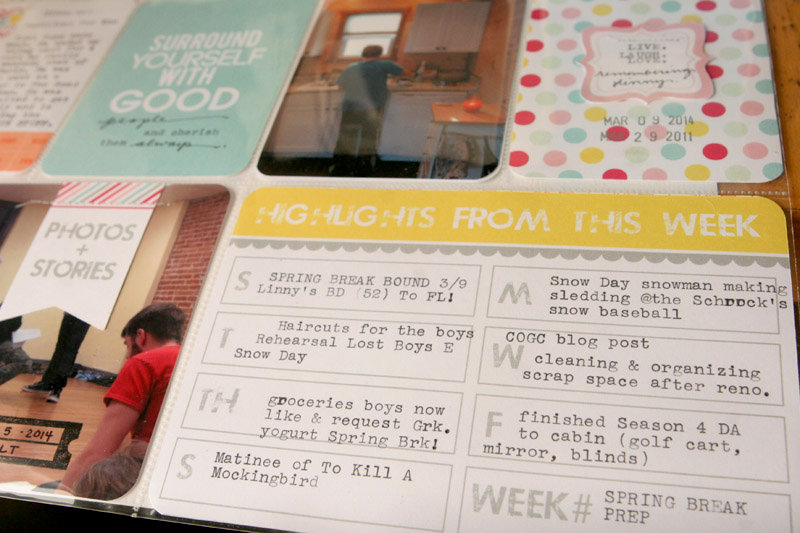 Pocket Page  | Week Ten | *ChicTags