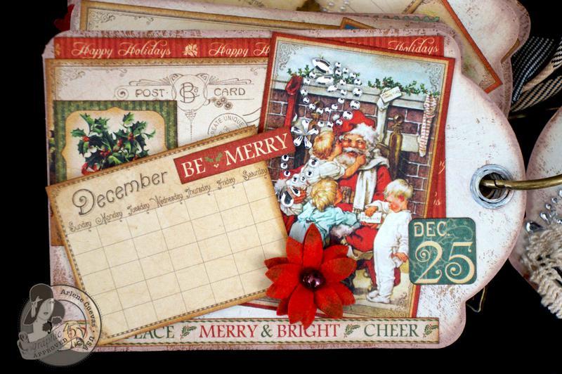 Place in Time 2013 Tag Calendar Album (Dec)