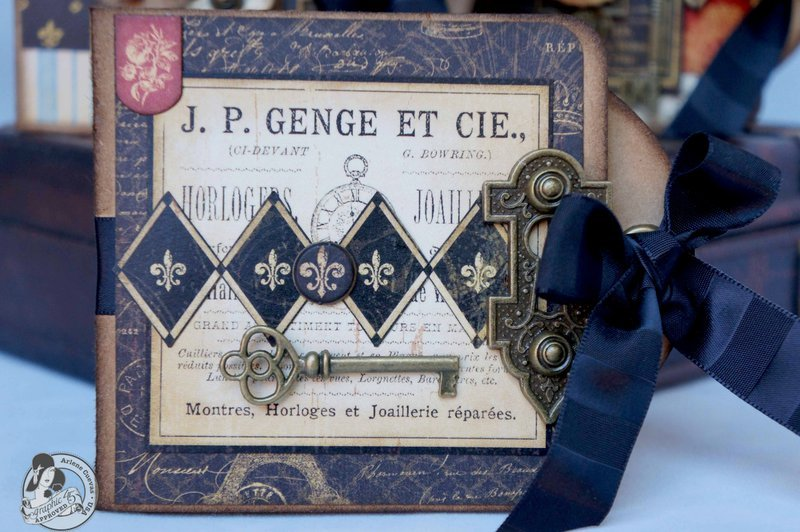 *Graphic 45* French Country Father's Day gift card holders