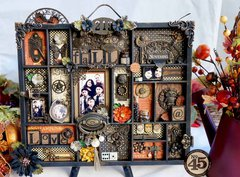 *Graphic 45* Steampunk Spells Altered Printers Tray