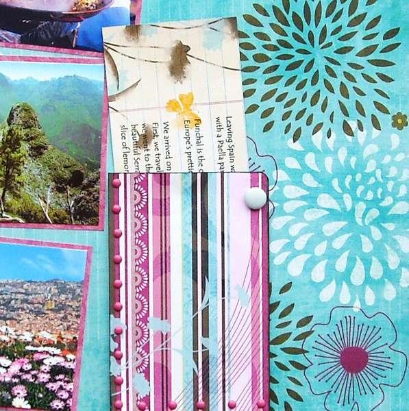 Closeup of Journalling Pocket - Europe Cruise 2010