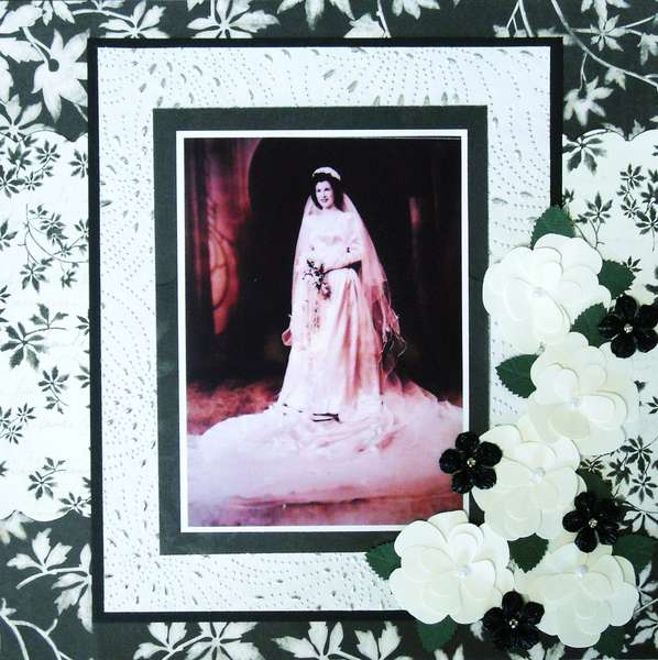Mil's Wedding Portrait