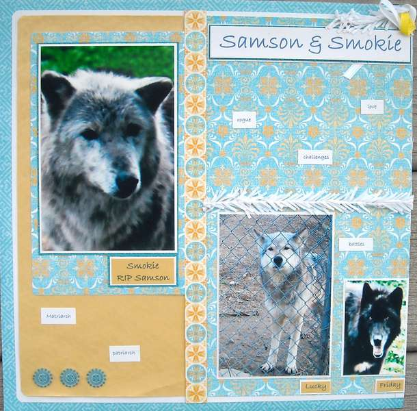Samson & Smokie - left side
