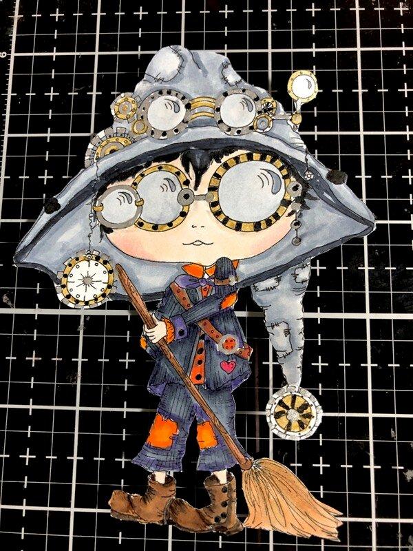 Steampunk Warlock