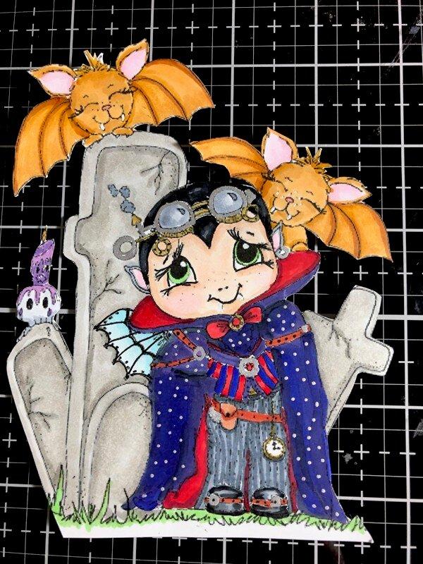 Steampunk Vampire Boy
