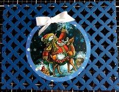 Christmas swap--blue