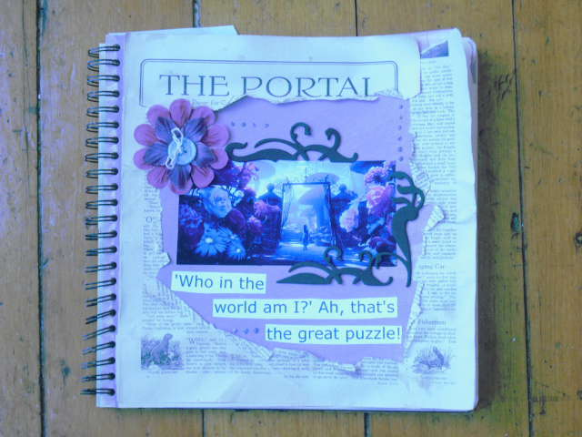 Art journal challenge over at TST