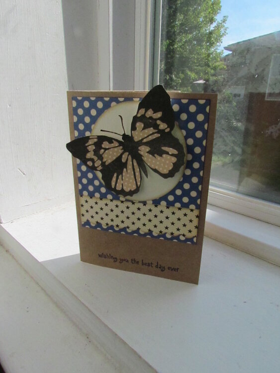 Butterfly greetings