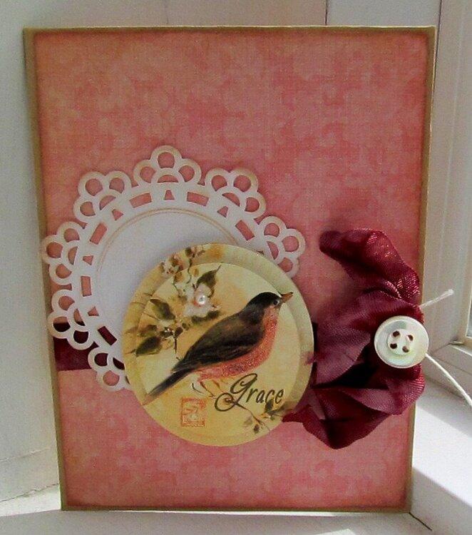 Maya Rd. envelope card