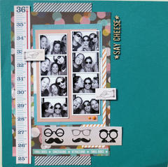 Say Cheese - Gossamer Blue January Kit