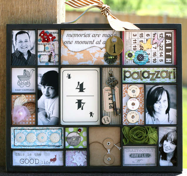 Memories are made Paint Tray