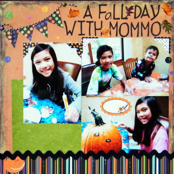 A Fall Day with Mommo