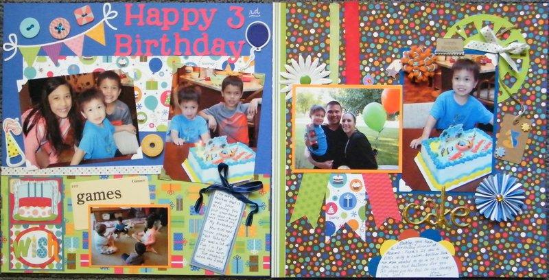 Happy 3 rd Birthday