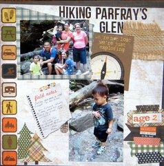 Hiking Parfray's Glen
