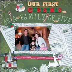 Our First Christmas as a Family of Five