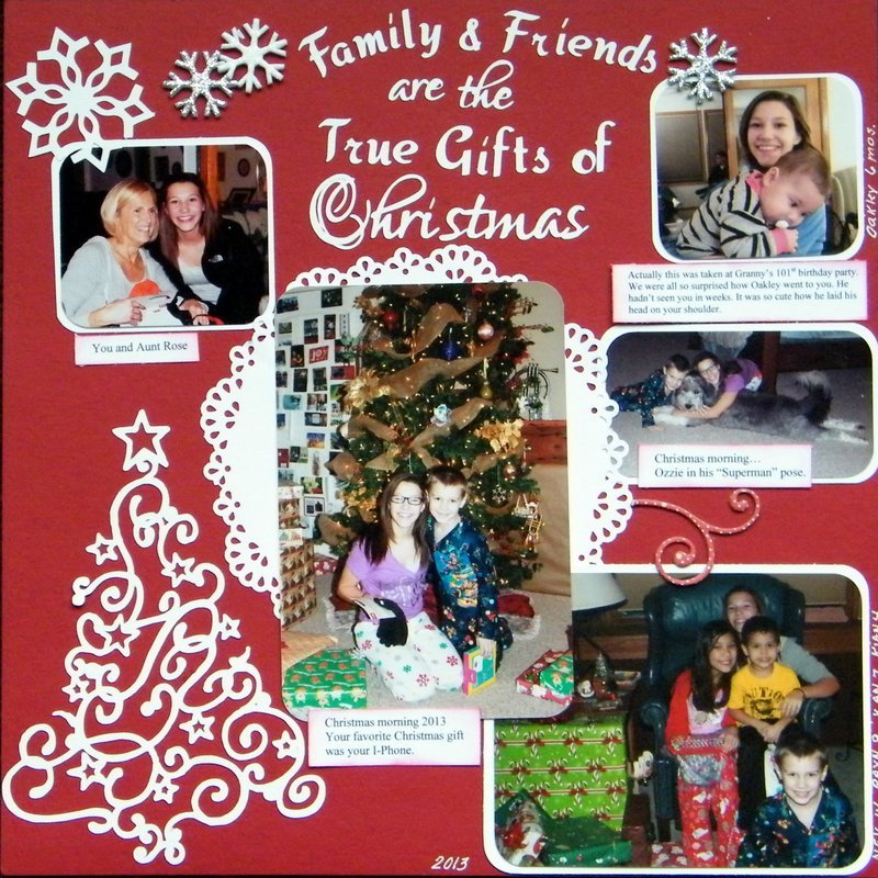 Family and Friends are the True Gifts of Christmas