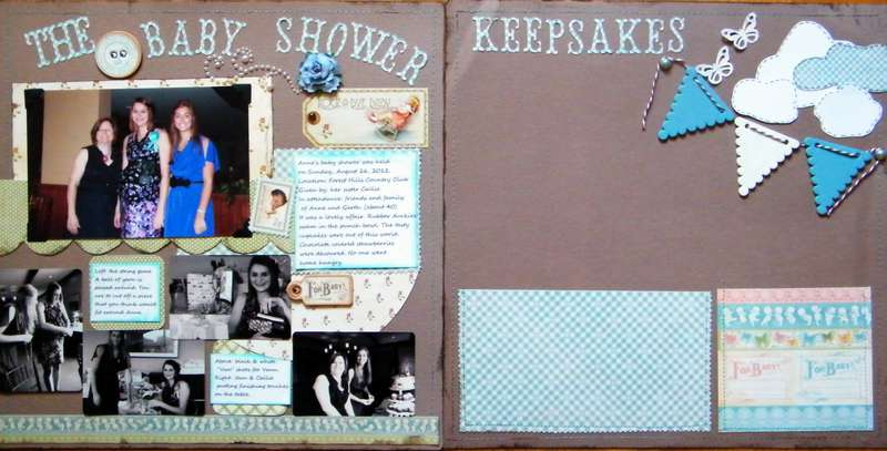 The Baby Shower and Keepsakes