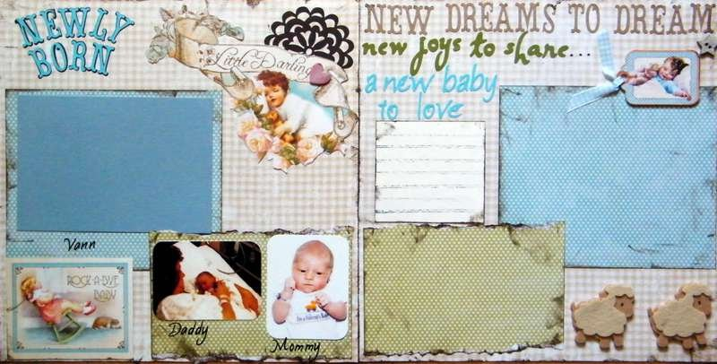 Newly Born and New Dreams to Dream