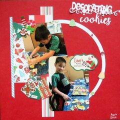 Decorating Cookies