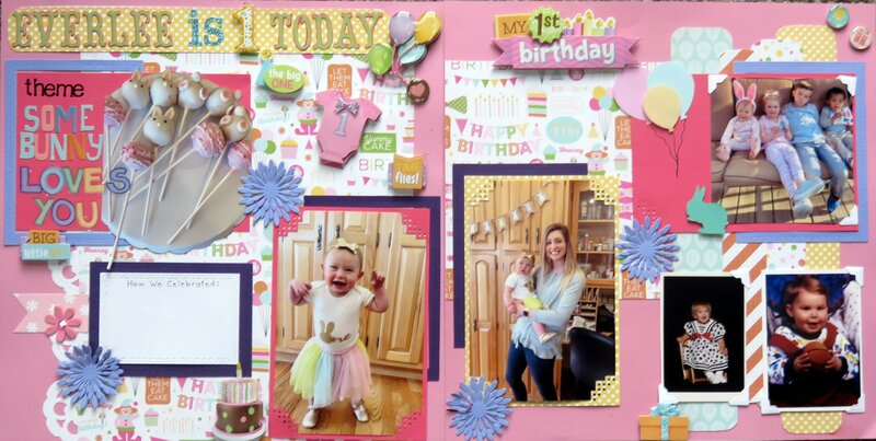 Everlee is 1 Today