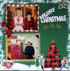 Merry Christmas fa la la
