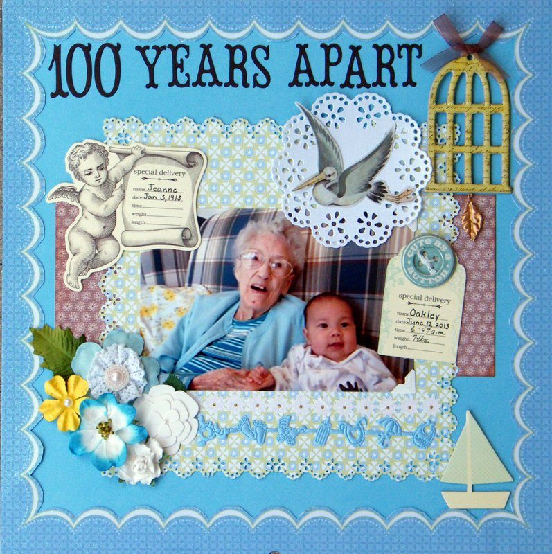 100 YEARS APART