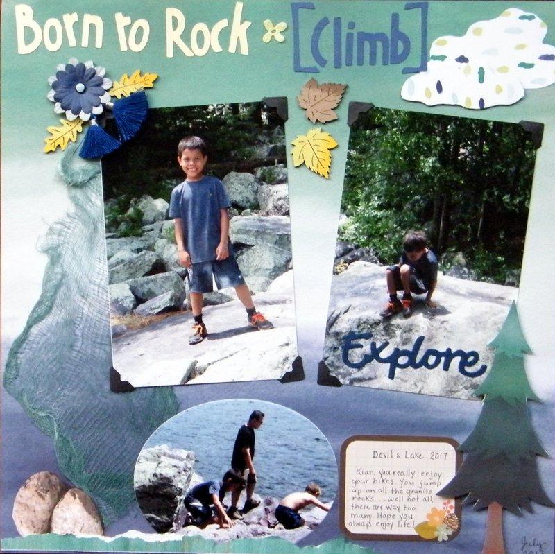 Born to Rock * (climb)