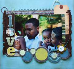 Darling Love (Scrap n Art Magazine Sep/Oct Issue)