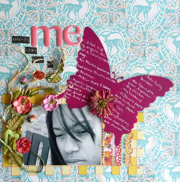 Things that make me, me (Scrappers Block Challenge # 3)