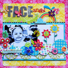 Sweet Angel Face *Scrappers Boutique*