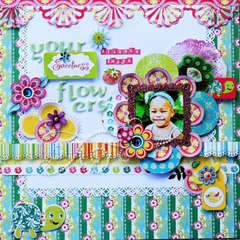 your sweetness belongs among flowers **Scrappers Boutique**
