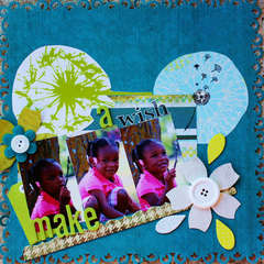 Make a wish (Scrap n Art Magazine sep/oct issue)