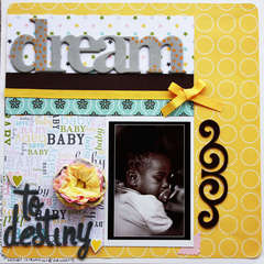 dream to destiny (American Crafts Challenge)