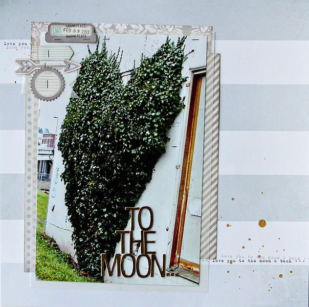 to the moon...COCOA DAISY APRIL KIT