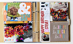 It's Such a Happy Life Mini Book | Simple Stories 6x8 SNAP! Binder
