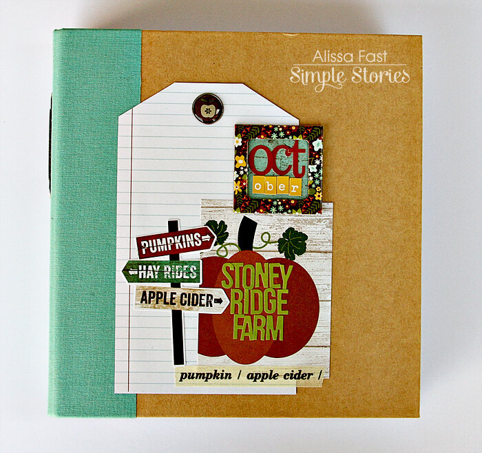 Stoney Ridge Farm | Simple Stories Pumpkin Spice