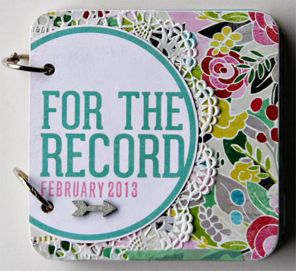 for the record ~ COCOA DASIY FEB KIT