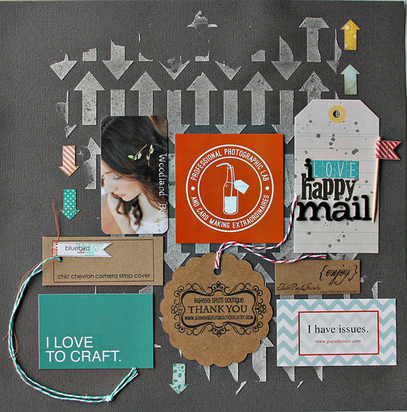 i love happy mail...COCOA DAISY NOV KIT