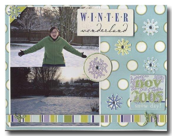 Winter Wonderland {Scenic Route}