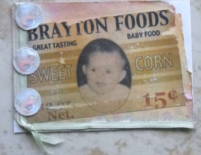Vintage Baby Food Label ATC Card