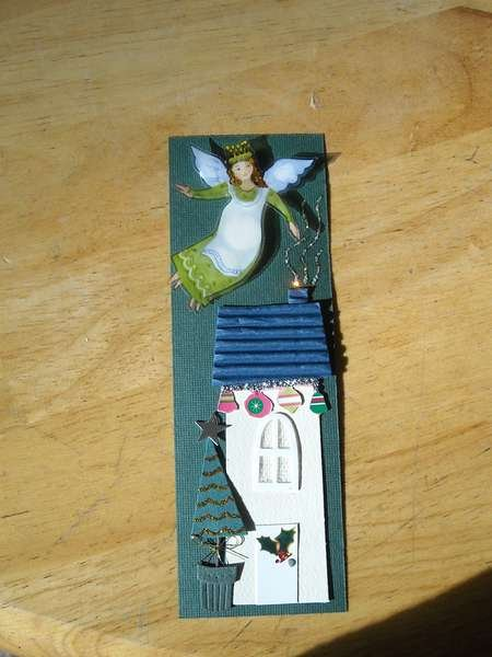 Christmas Angel bookmark