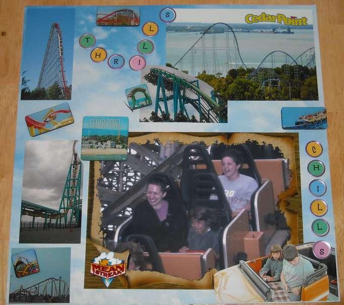 Thrills Chills Roller Coaster L/O