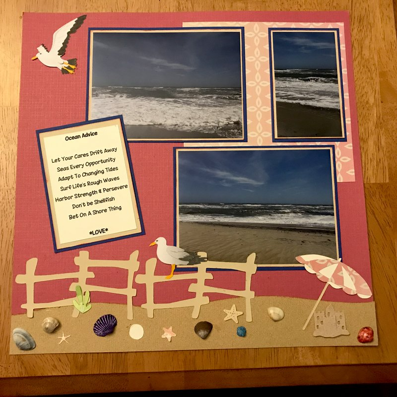 Ocean's Advice Layout Page 1