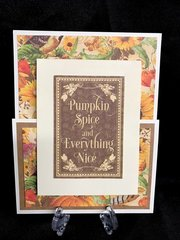 Graphic 45 Pumpkin Spice Card