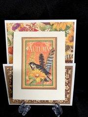 Graphic 45 Autumn Card