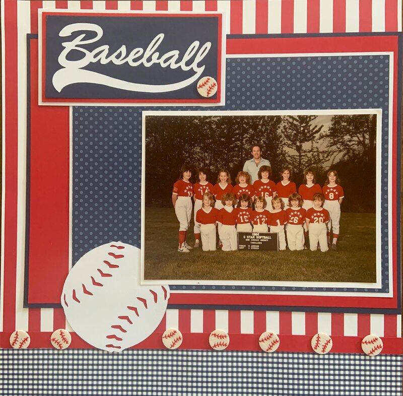 Baseball Softball Layout