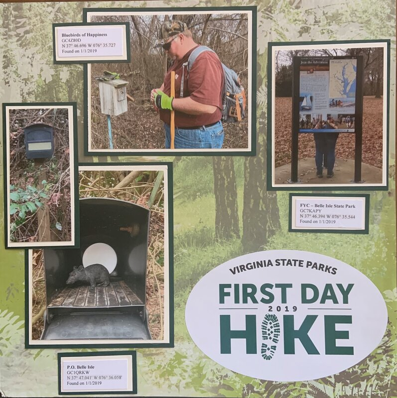 First Day Hike Layout