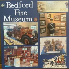 Bedford Fire Museum Layout Page 1